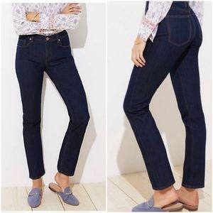 LOFT Modern Straight cut jeans blue 29/8